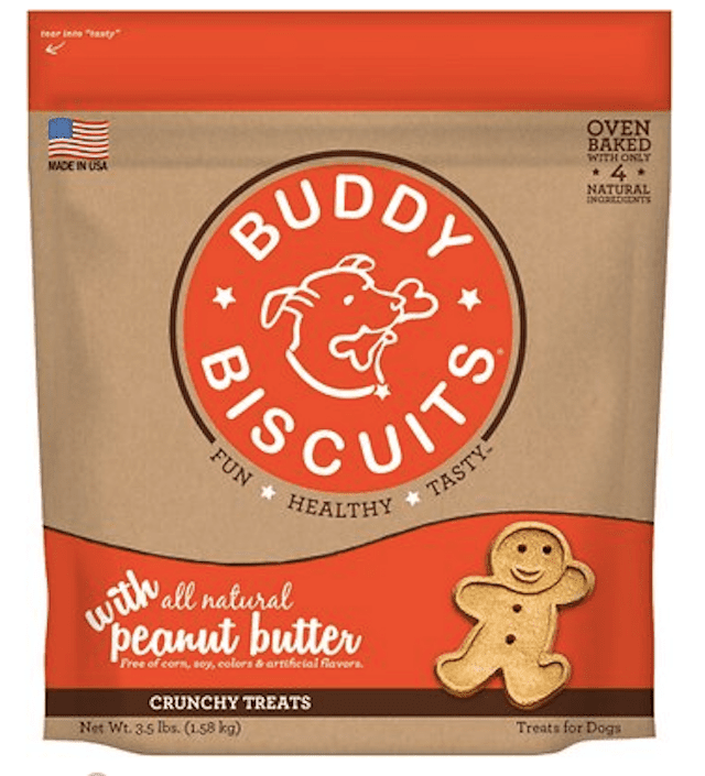 Peanut Butter Buddy Biscuits