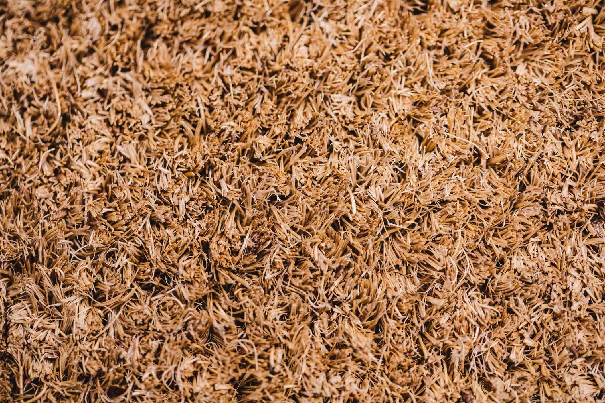 Coconut fiber bedding