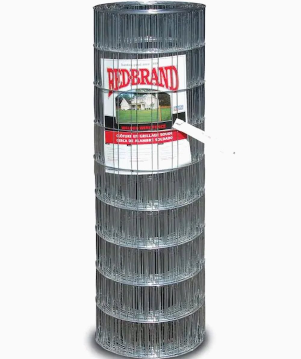 Red Brand Welded Wire Rolled Fencing