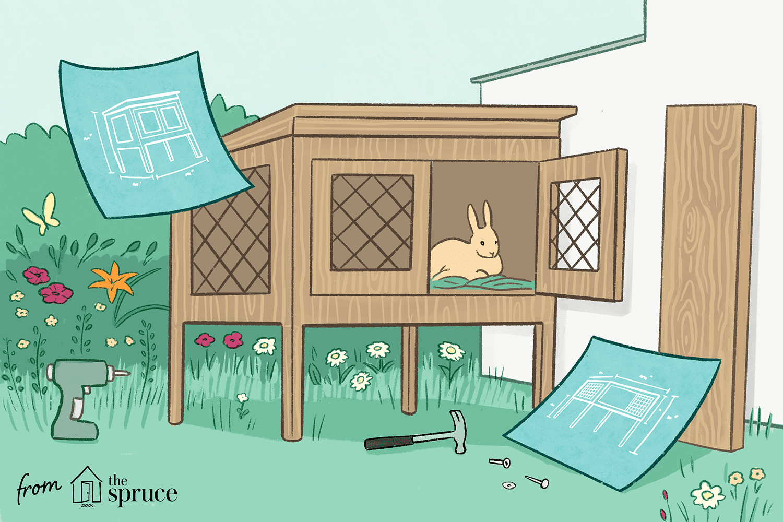 20 Completely Free DIY Rabbit Hutch Plans