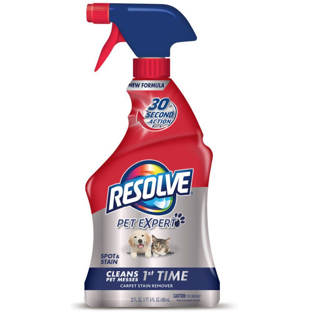 Best for Stains: Resolve Pet Stain Remover Carpet Cleaner