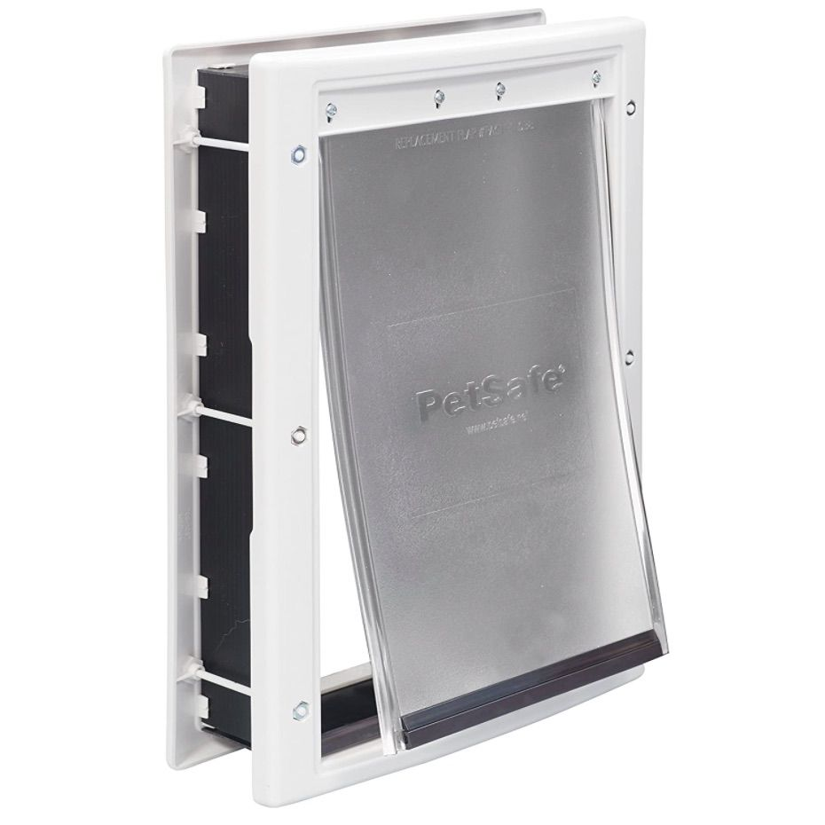 PetSafe Plastic Pet Door for Cats and Dogs