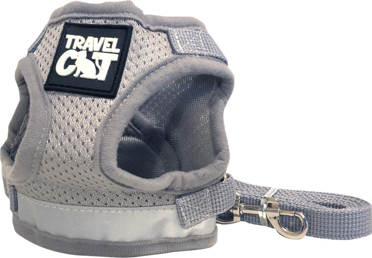 Travel Cat Reflective Harness and Leash