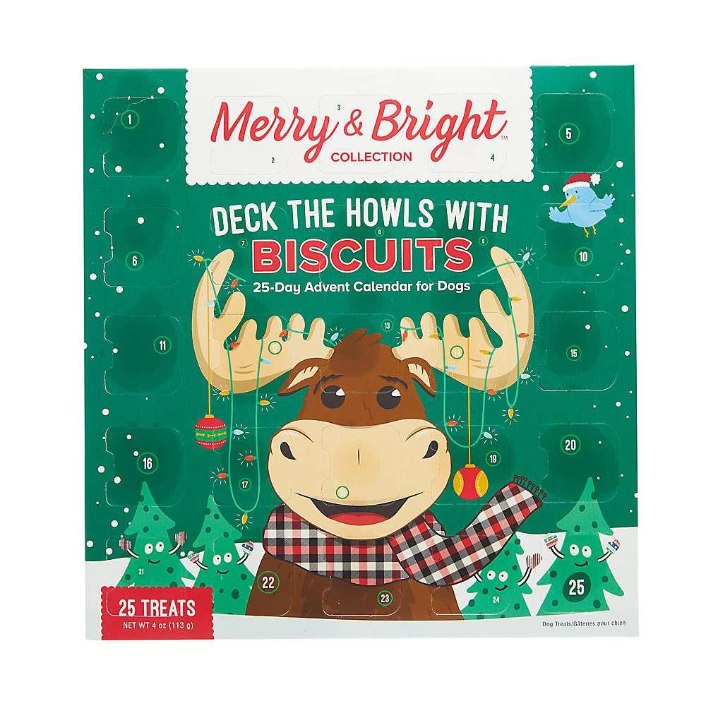 Merry & Bright Biscuits Advent Calendar Dog Treats