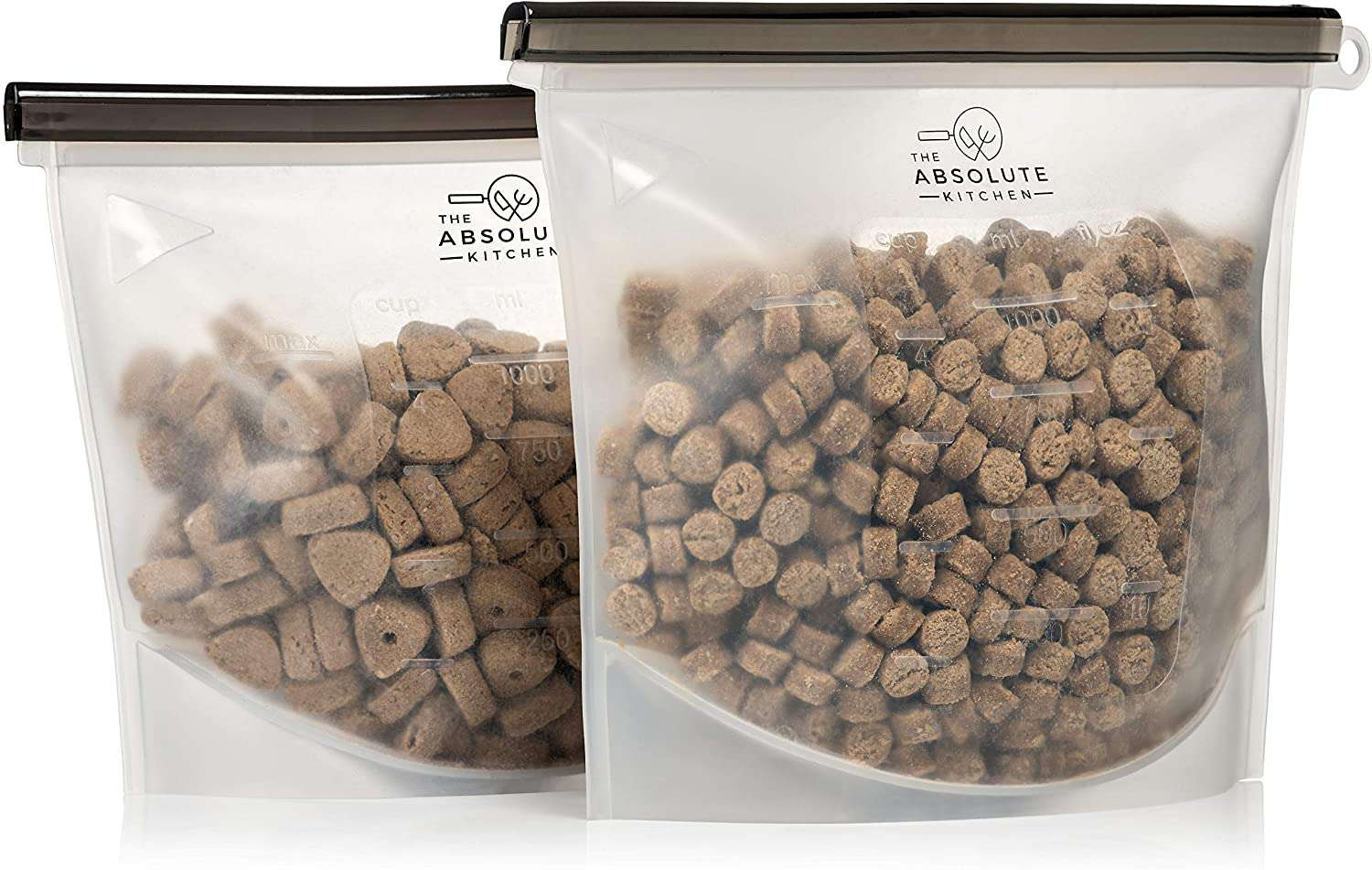 The Absolute Kitchen Reusable Airtight Pet Food Storage Container