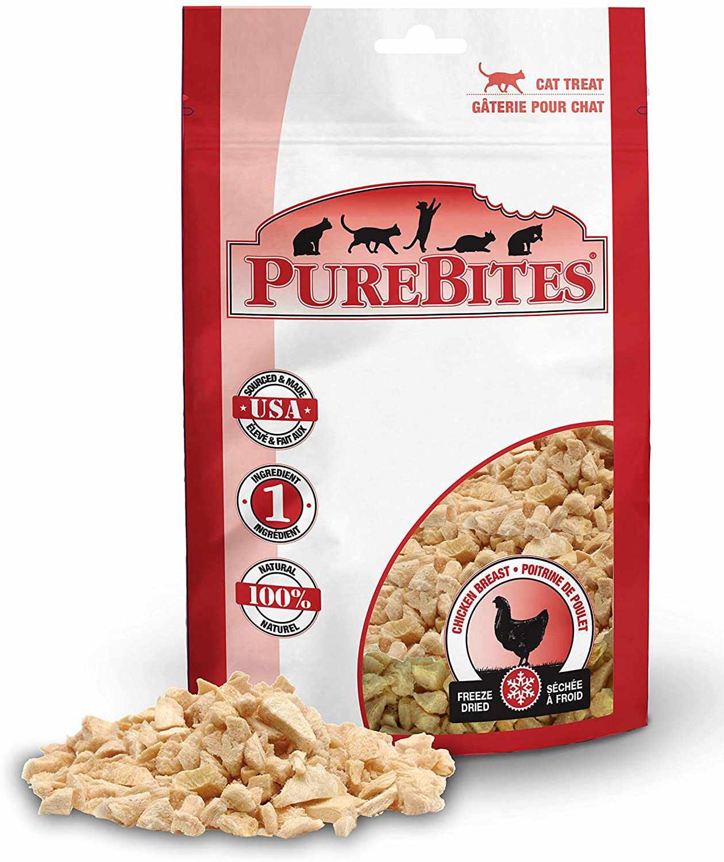 PureBites Freeze Dried Chicken Breast Cat Treats
