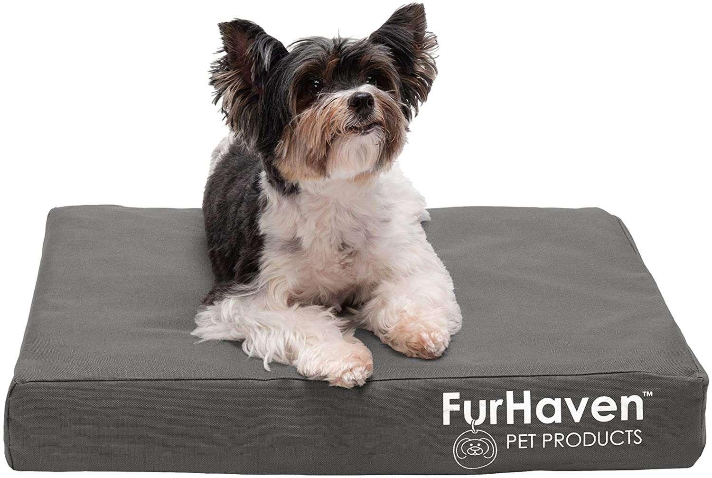 Furhaven Deluxe Mattress Indoor/Outdoor Bed