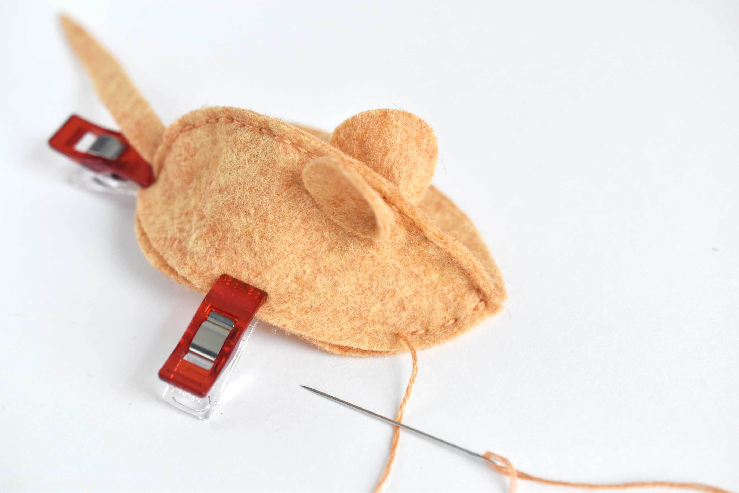 A homemade cat toy