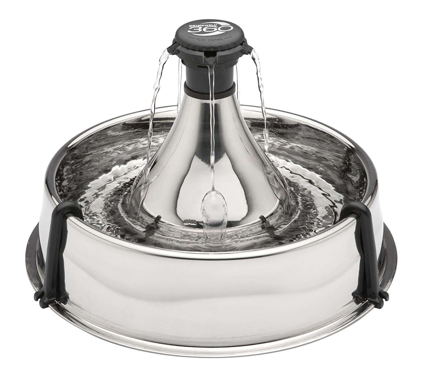 PetSafe Drinkwell 360 Multi-Pet Stainless Steel Dog and Cat Fountain