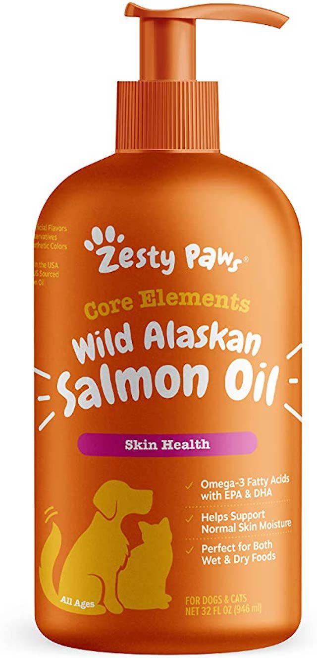 Core Elements Wild Alaskan Salmon Oil for Dogs & Cats