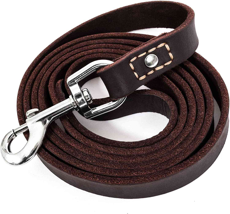 LEATHERBERG Leather Dog Leash