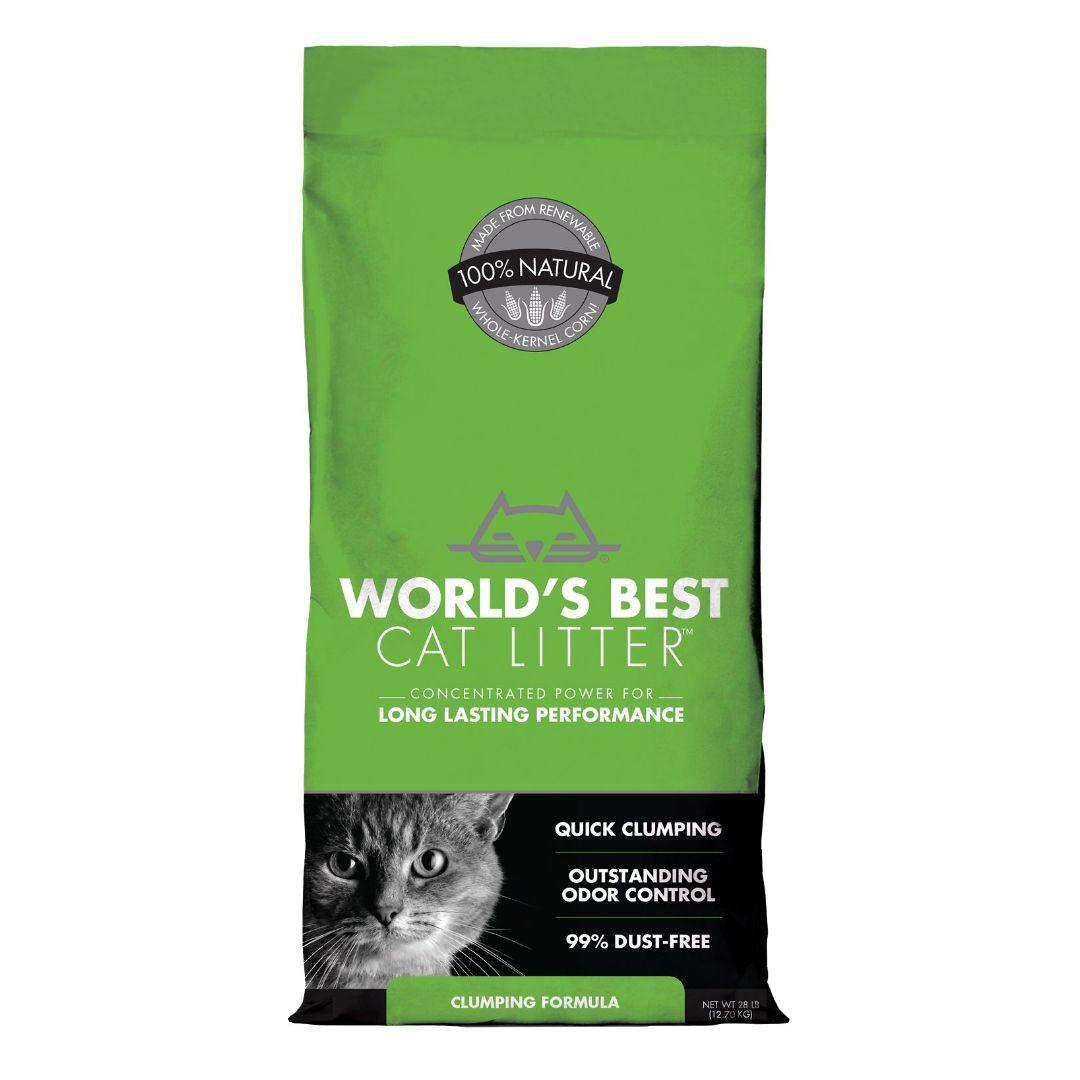 World's Best Unscented Clumping Corn Cat Litter