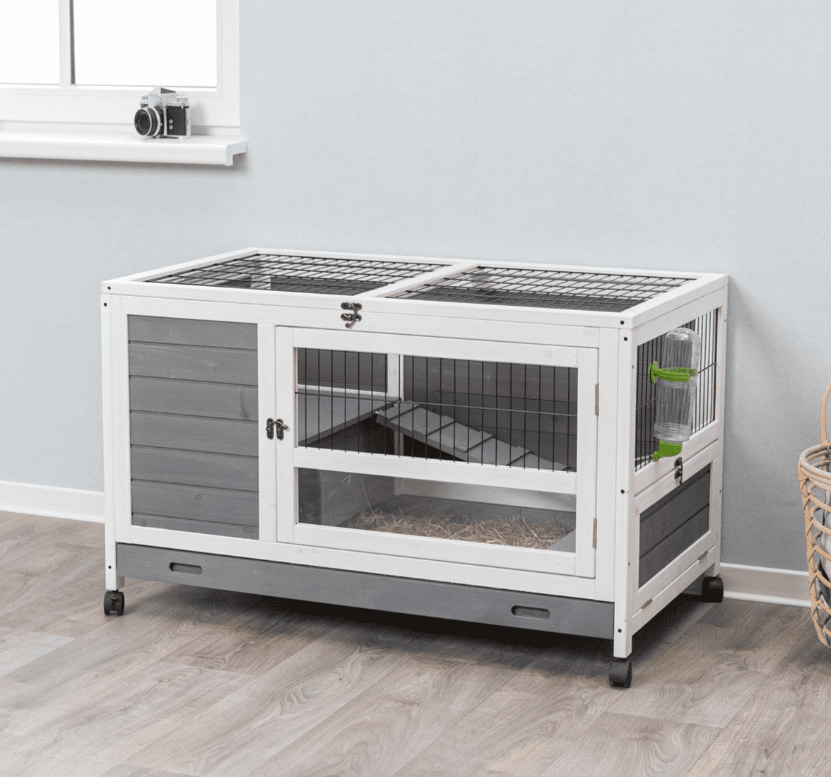 Trixie Pet Products Natura Indoor Rabbit Hutch