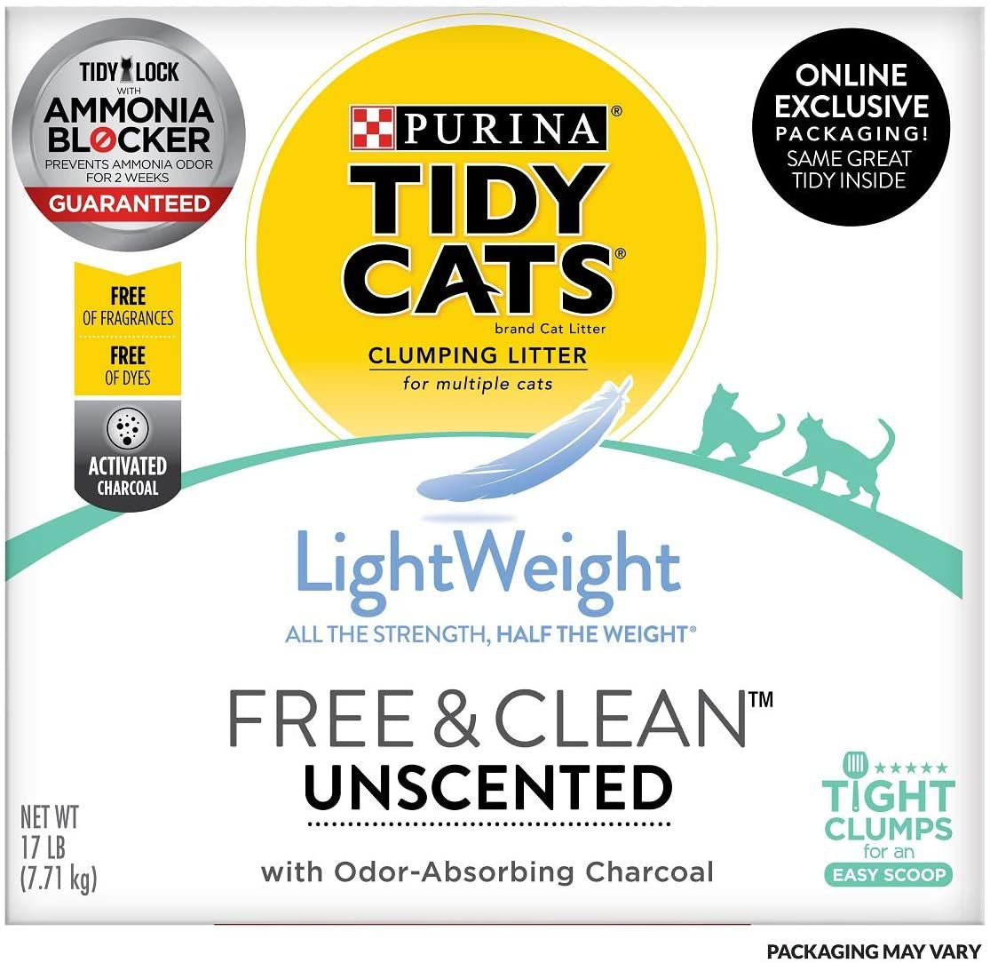 Tidy Cats Free & Clean Cat Litter