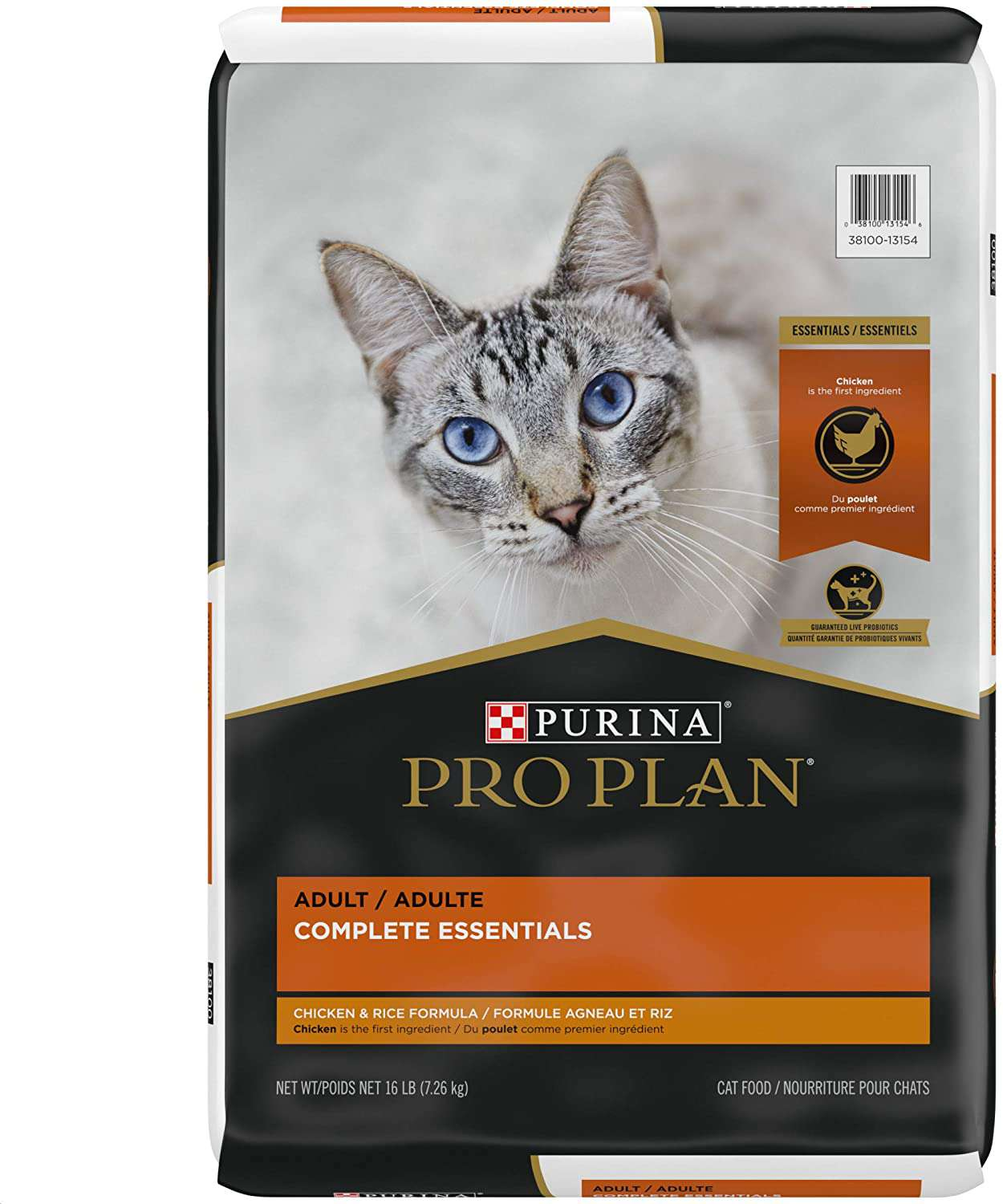 Purina Pro Plan With Probiotics High Protein Adult Dry Cat Food