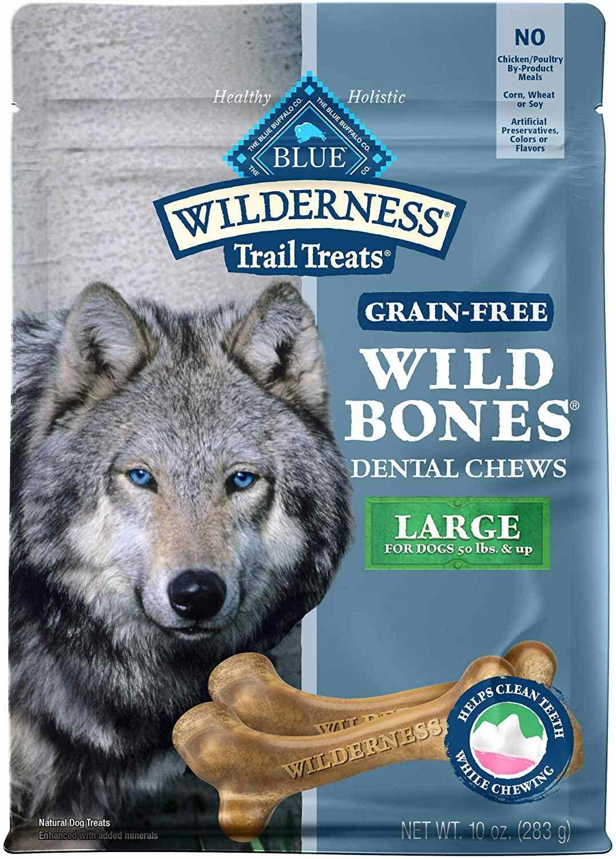 Blue Buffalo Wilderness Wild Bones Grain Free Dental Chews