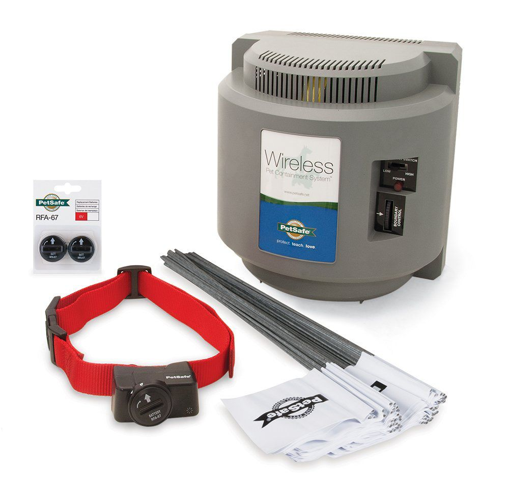 PetSafe Wireless Fence with Extra Battery Pack