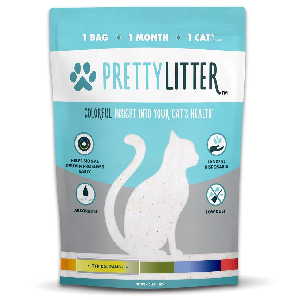 Bag of Pretty Litter cat litter