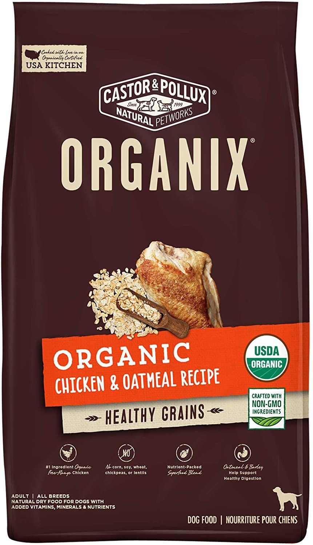 Castor & Pollux Organix Organic Chicken & Oatmeal Recipe Dry Dog Food