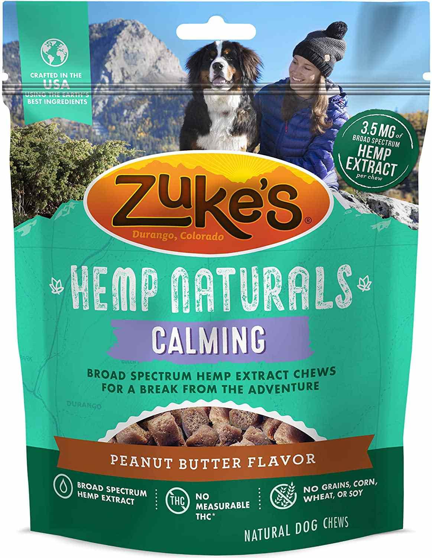 Zuke's Hemp Natural Calming Dog Treats