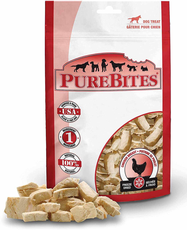 PureBites Chicken Breast Freeze-Dried Dog Treats