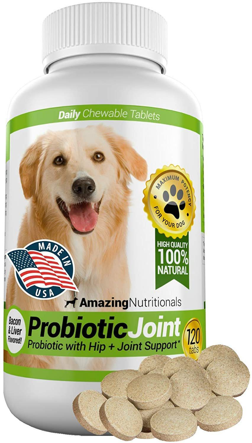 Amazing Nutritionals Probiotic Joint Chewable Tablets
