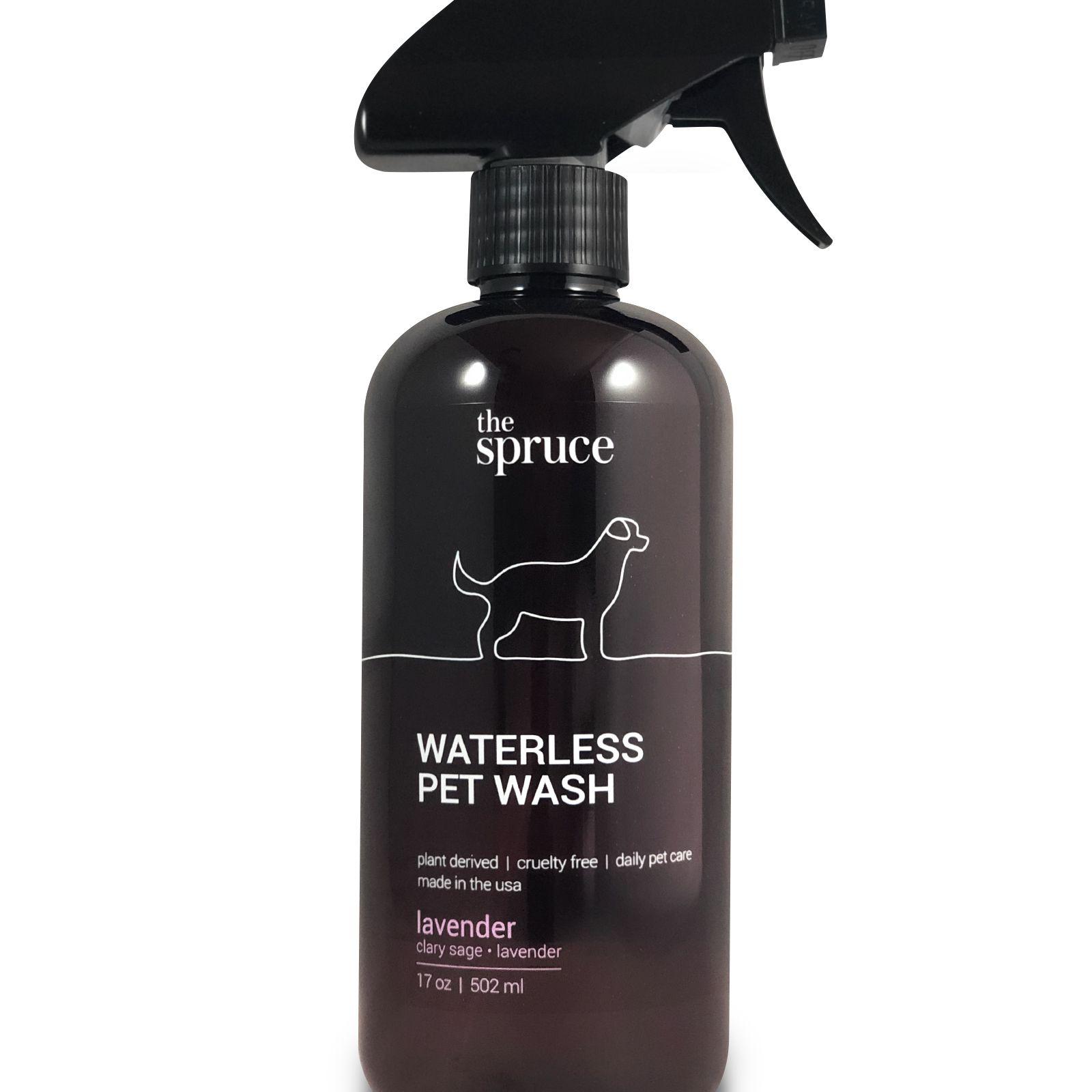 Waterless pet wash in Lavender