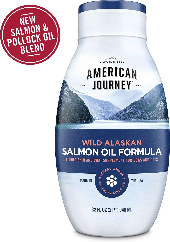 American Journey Wild Alaskan Salmon Oil Formula Liquid Supplement