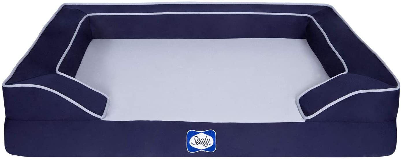 Sealy Lux Quad Layer Dog Bed