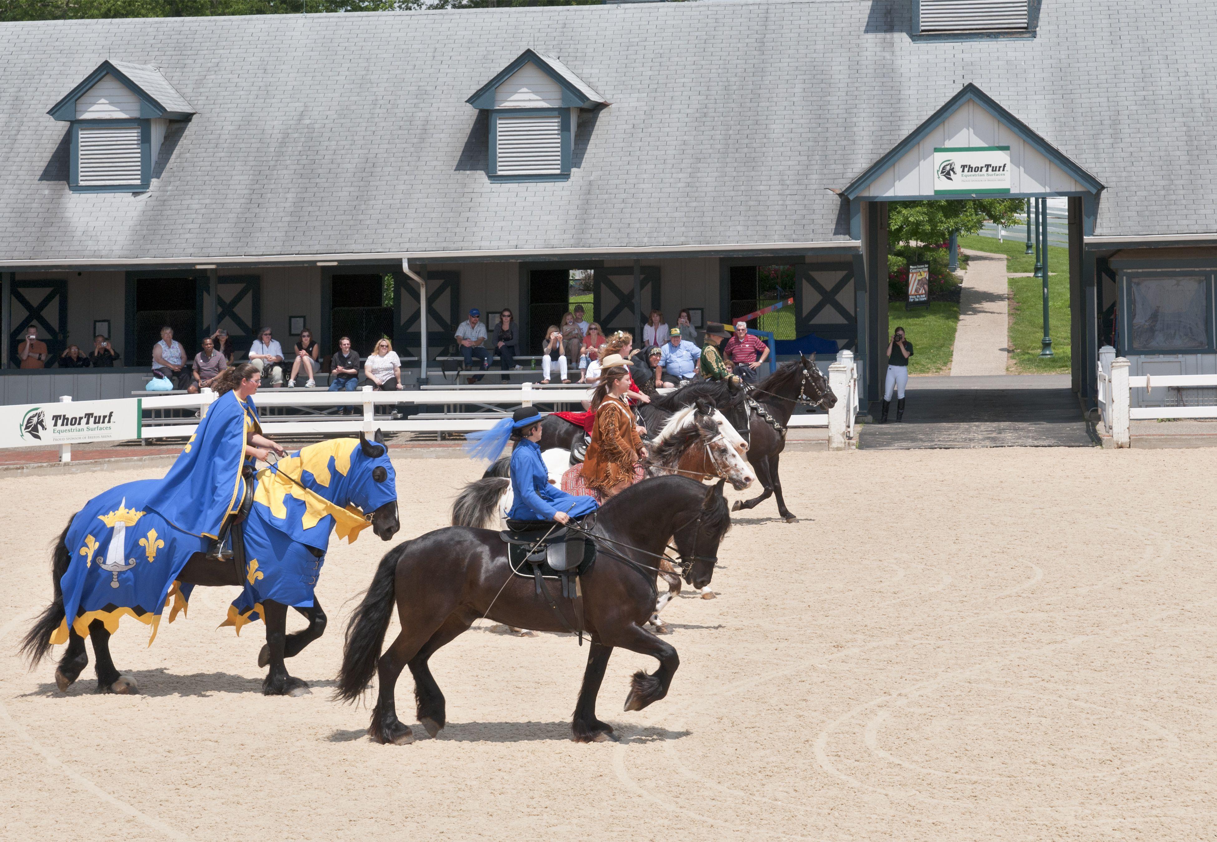 Kentucky Horse Park, The National Horse Center, Parade of Breeds