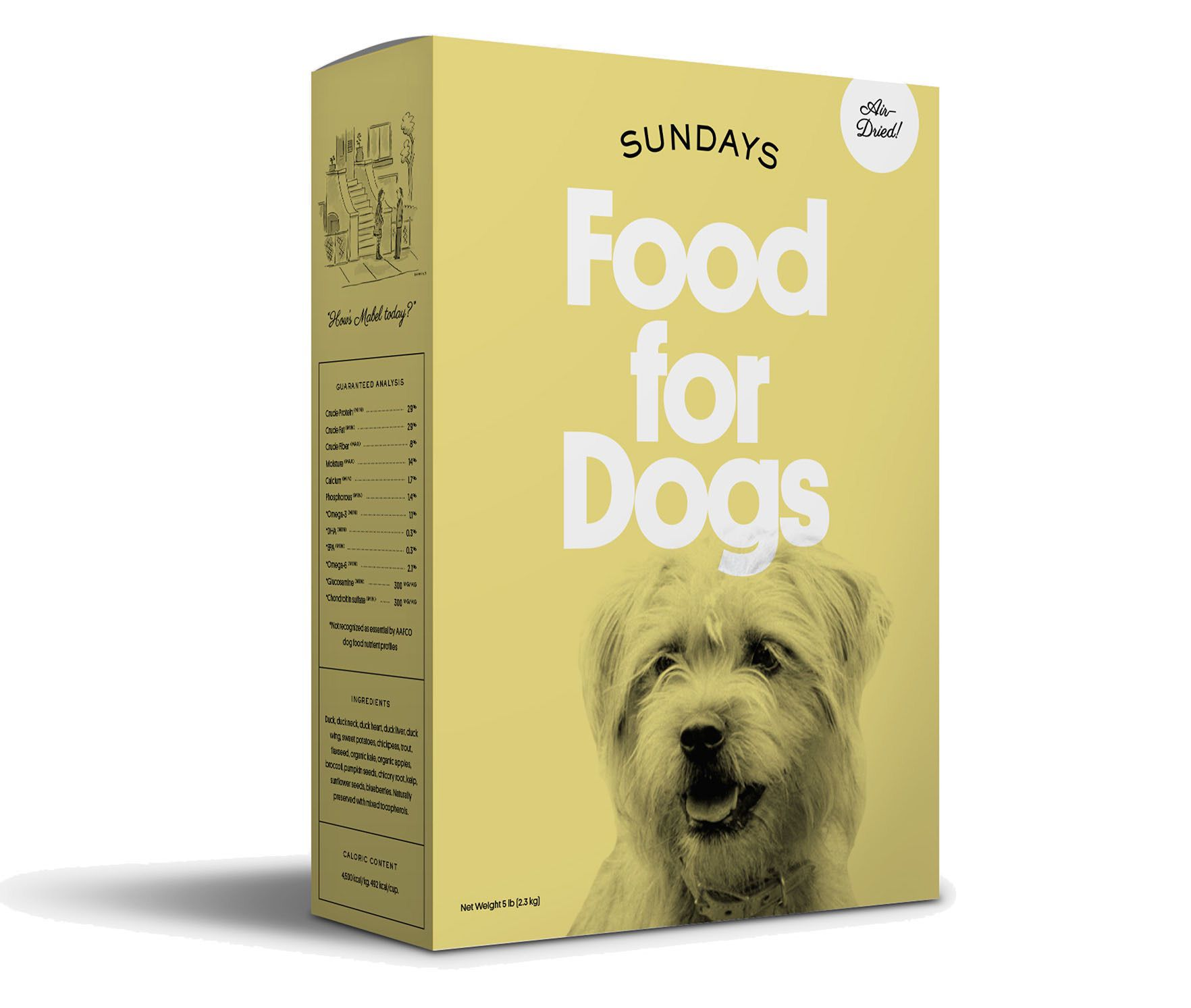 Sundays Food for Dogs
