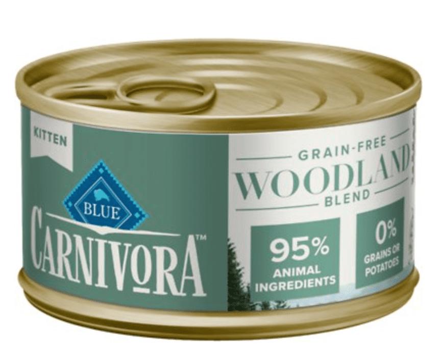Blue Buffalo Carnivora Woodland Blend Grain-Free Kitten Wet Cat Food