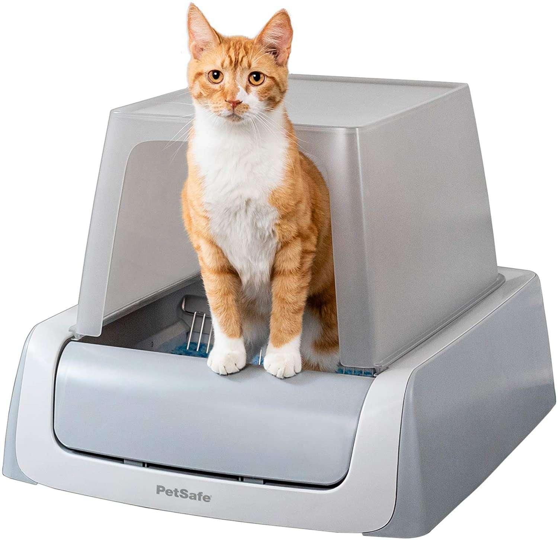 PetSafe ScoopFree Automatic Self Cleaning Hooded Cat Litter Box