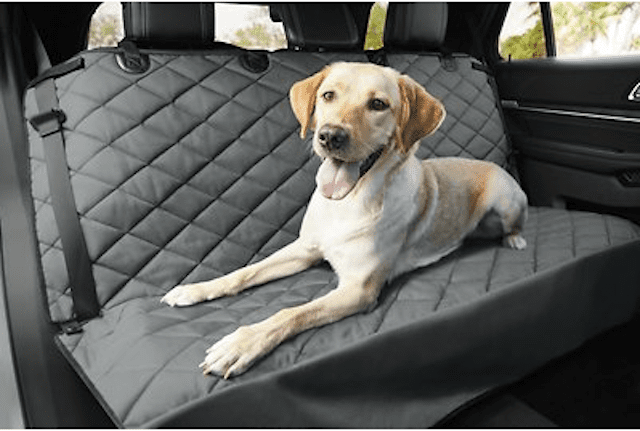 Frisco Quilted Water Resistant Bench Car Seat Cover