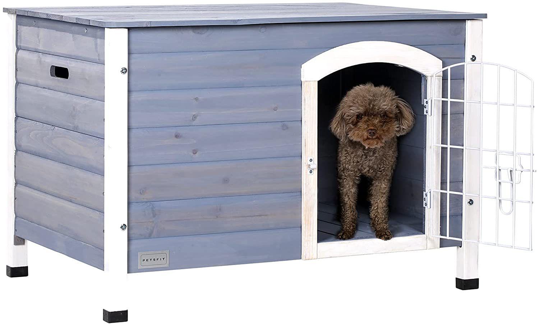 Petsfit Indoor Wooden Dog House