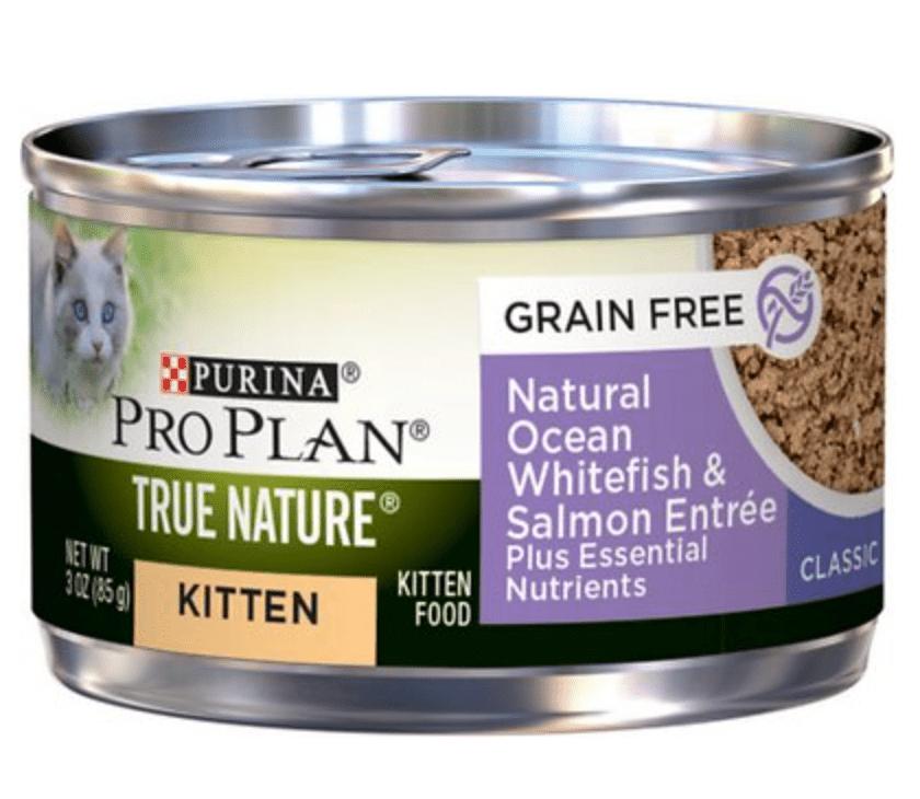 Purina Pro Plan True Nature Grain-Free Kitten Formula Canned Cat Food