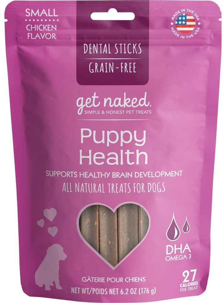 Get Naked Grain-Free Puppy Health Dental Chew Sticks