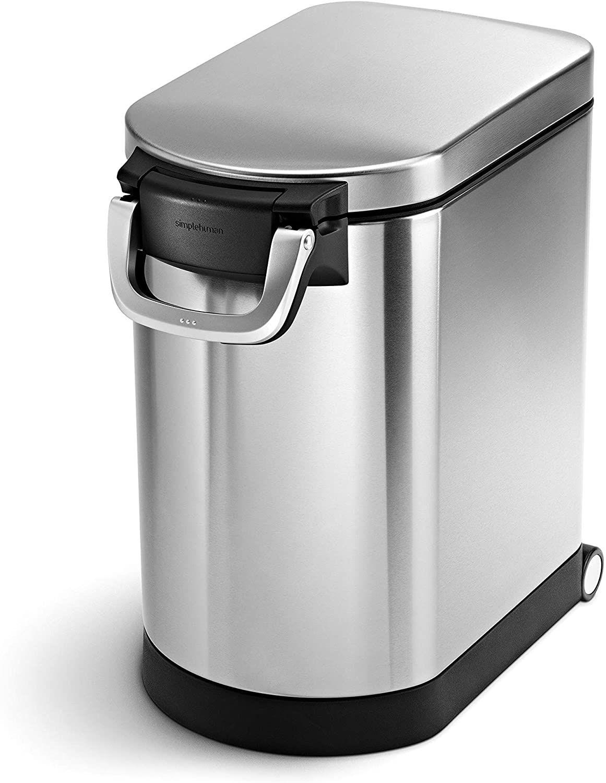 simplehuman 25 Liter Medium Pet Food Storage Can