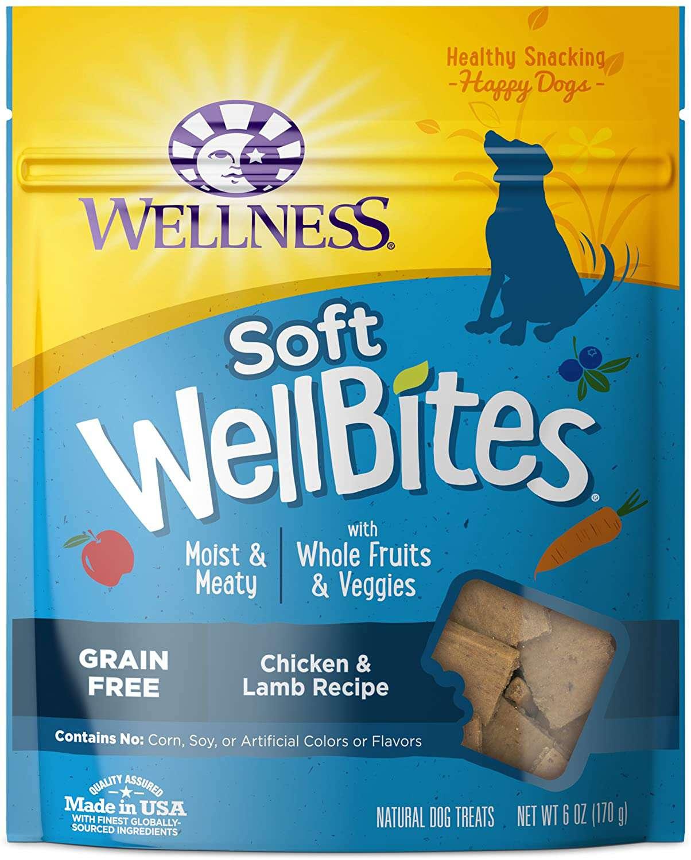 Wellness WellBites Grain-Free Soft & Chewy Dog Treats