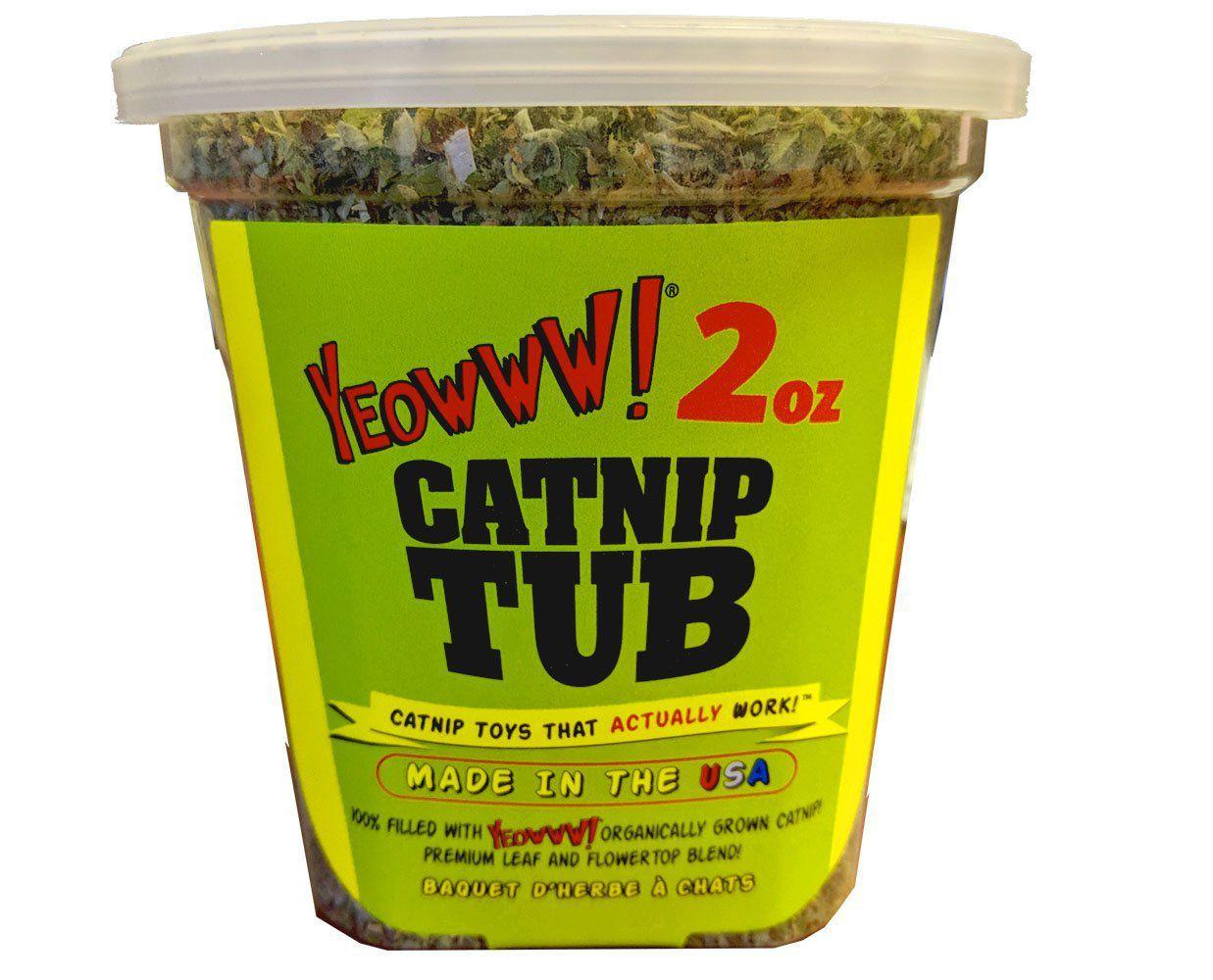Dry catnip