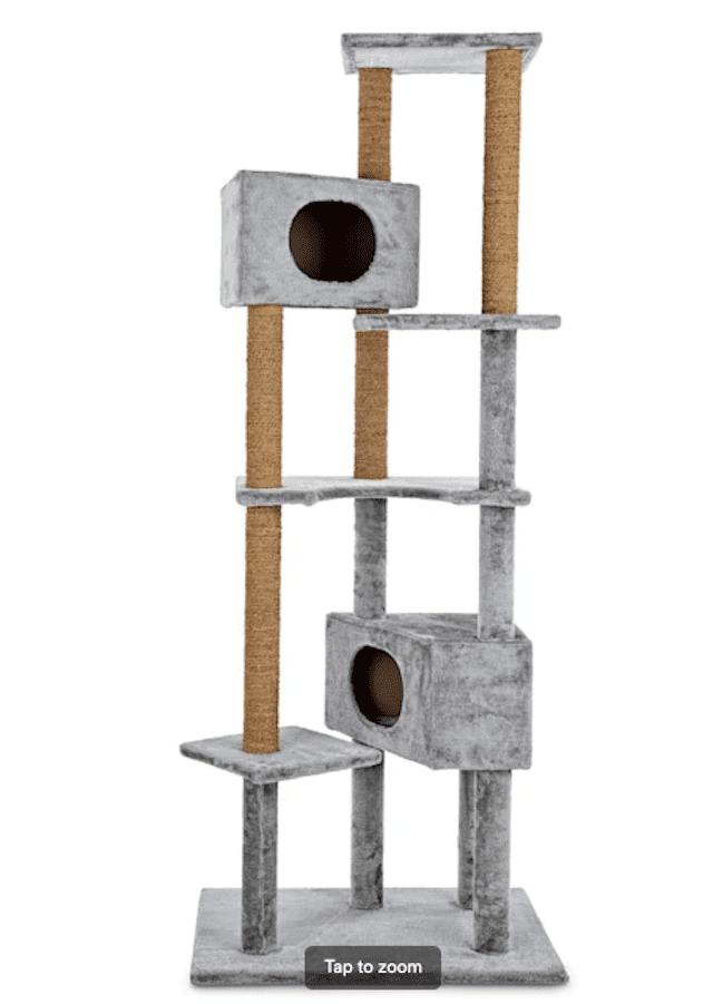 Animaze 6-Level Grey Cat Tree