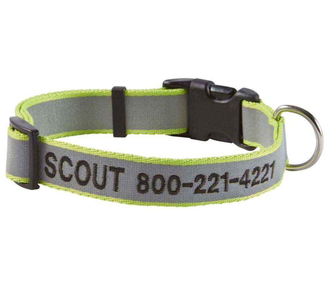 L.L. Bean Personalized Pet Collar