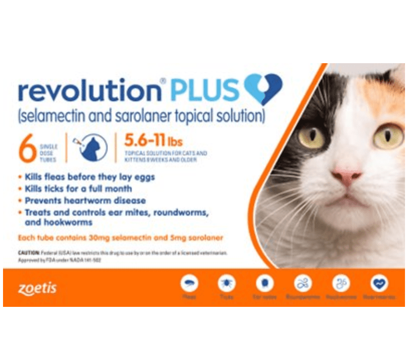 Revolution Plus Topical Solution for Cats