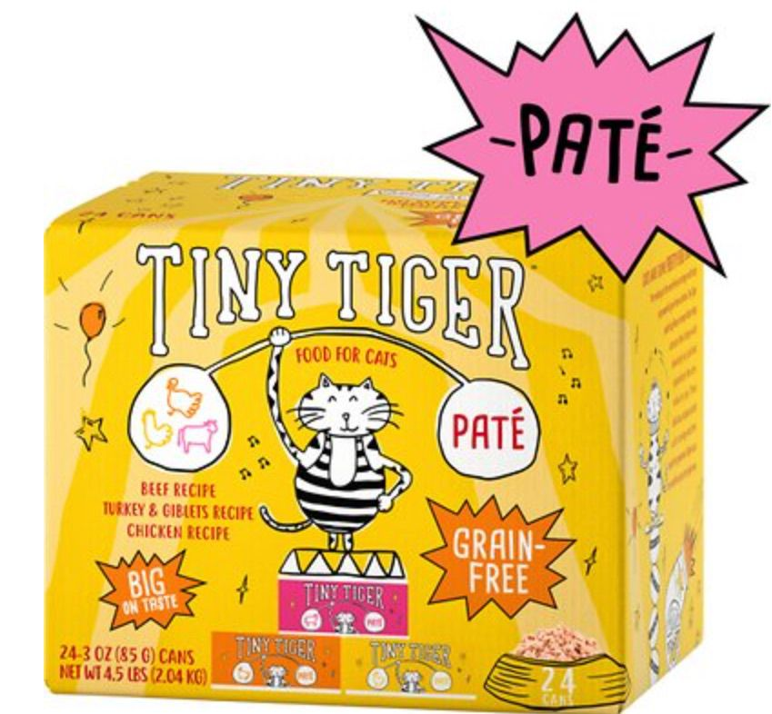 Tiny Tiger Pate Beef & Poultry Recipes Variety Pack