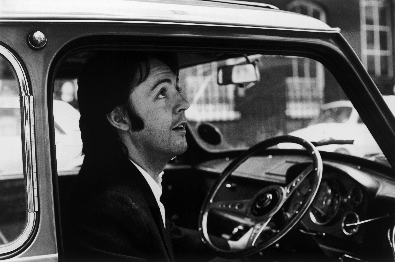 McCartney In His Car