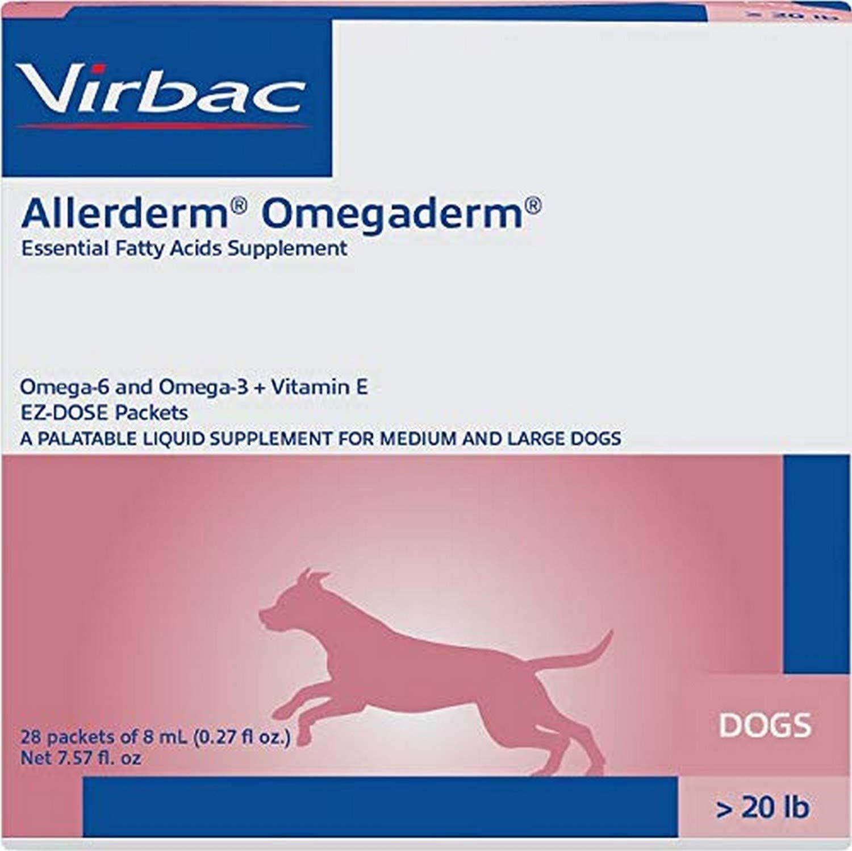 Virbac Allerderm Omegaderm EZ-Dose Packets