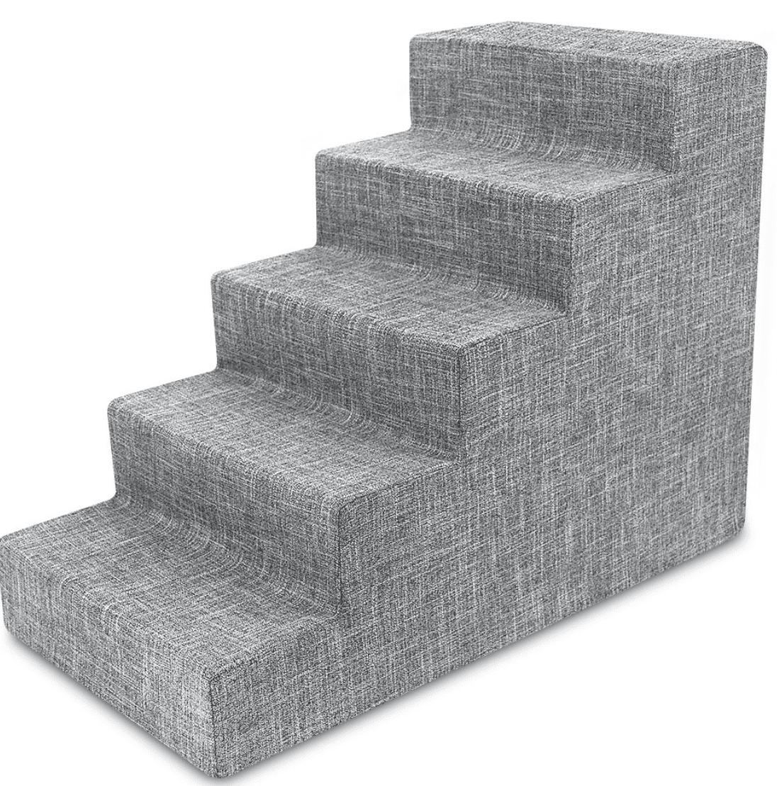 Best Pet Supplies Linen & Foam Cat & Dog Stairs