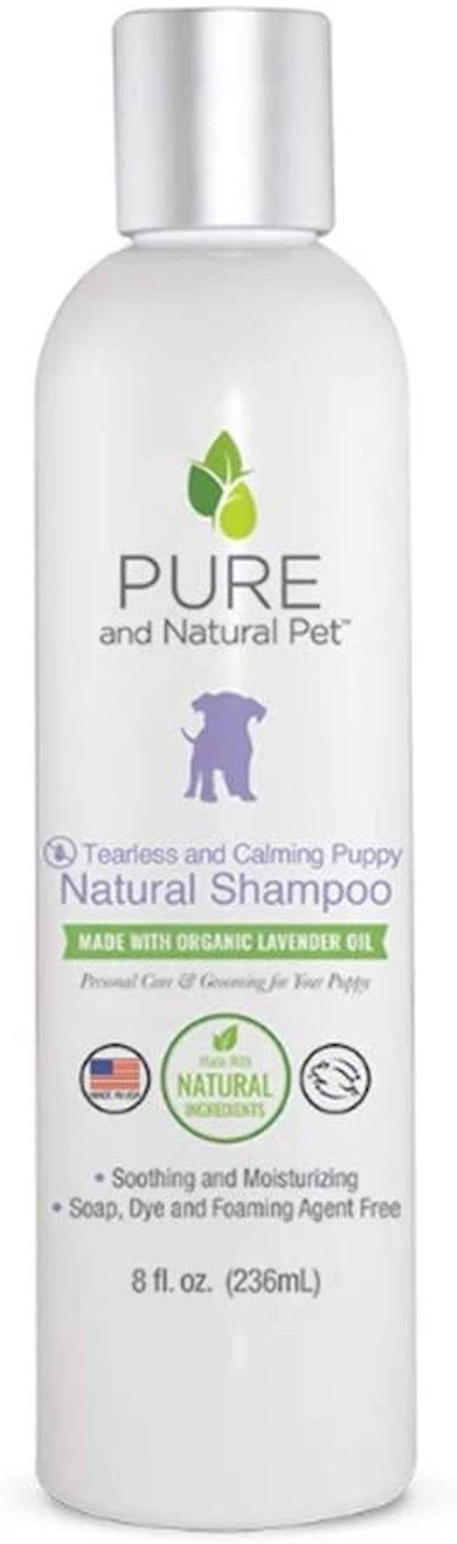 Pure and Natural Pet Tearless and Calming Puppy Shampoo