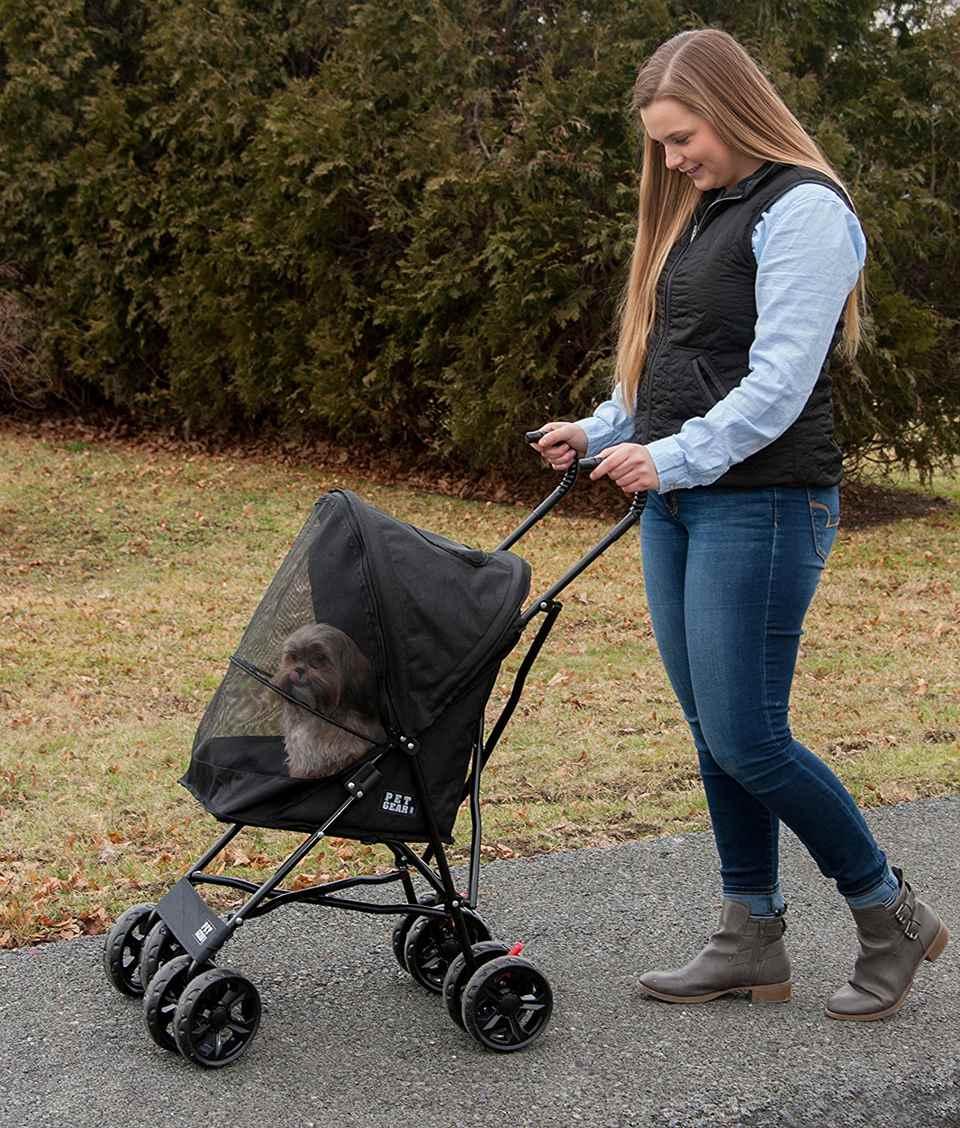 Pet Gear Ultra Lite Travel Stroller, Compact