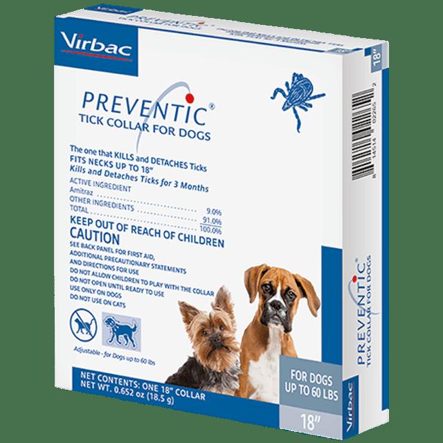 Virbac Preventic Tick Collar for Dogs